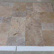 Turkish Travertine Classic Travertin Tumbled Mix French Pattern Set 1,2 cm - Commercial (3)