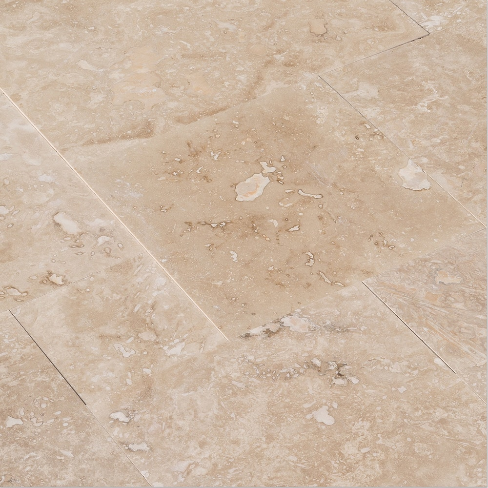 Travertine Filled Honed Classic 40,6x61x1,2 cm | Mazzmar Stone