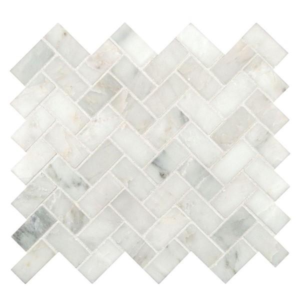 Herringbone marble
