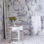 Bianco Lilliac Marble Slabs from Turkey