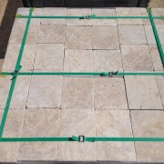 Classic Travertine Tumbled 3 cm PaversClassic Travertine Tumbled 3 cm Pavers