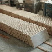 Light Travertine Bullnose Pool Coping 12x24 30,5x61x3 cm (12)