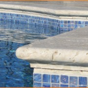 Light Travertine Bullnose Pool Coping 12x24 30,5x61x3 cm Travertine Pool Coping Pavers Travertine Pool Stones Travertine Pool Travertine Stair Travertine Treads
