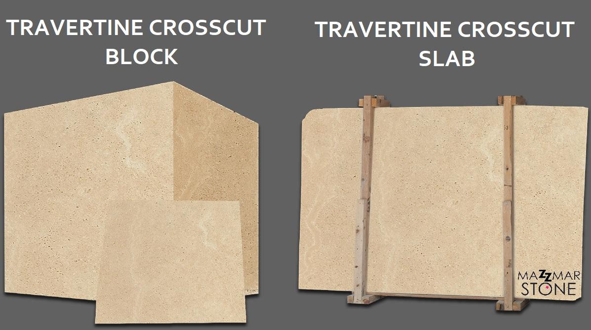 Travertine Crosscut Slabs
