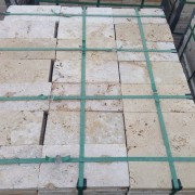 Travertine Pavers Tumbled Rustic 3 cm Commercial Grade 15
