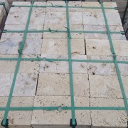 Travertine Pavers Tumbled Rustic 3 cm Commercial Grade 15 ...