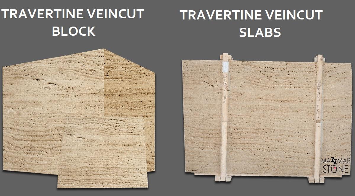 Travertine Veincut Slabs