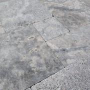 Silver Travertine - French Pattern Set 1,2 cm - (2)