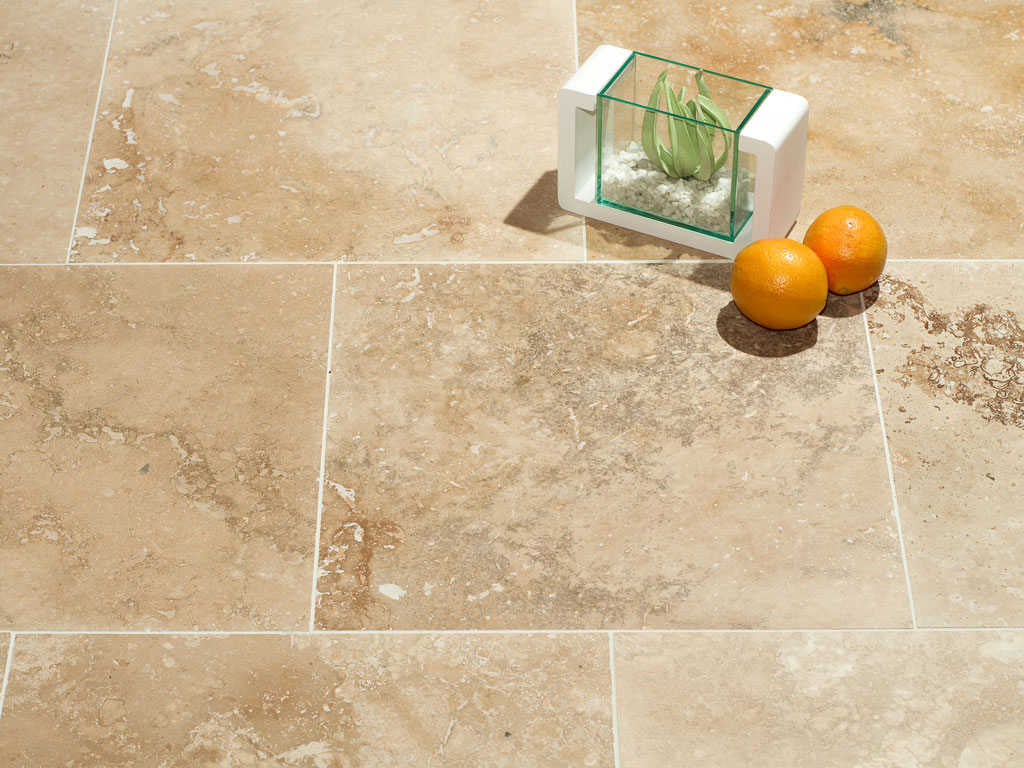Clic Travertine Filled And Honed