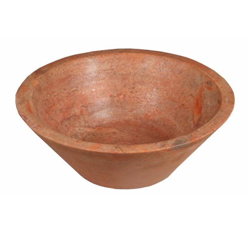 red-travertine-bowls