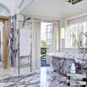 Bianco Lilliac Marble Slabs from Turkey